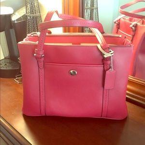Coach Red Handbag